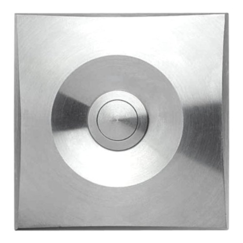 Square Doorbell Mive Stainless Steel Wall Mounted